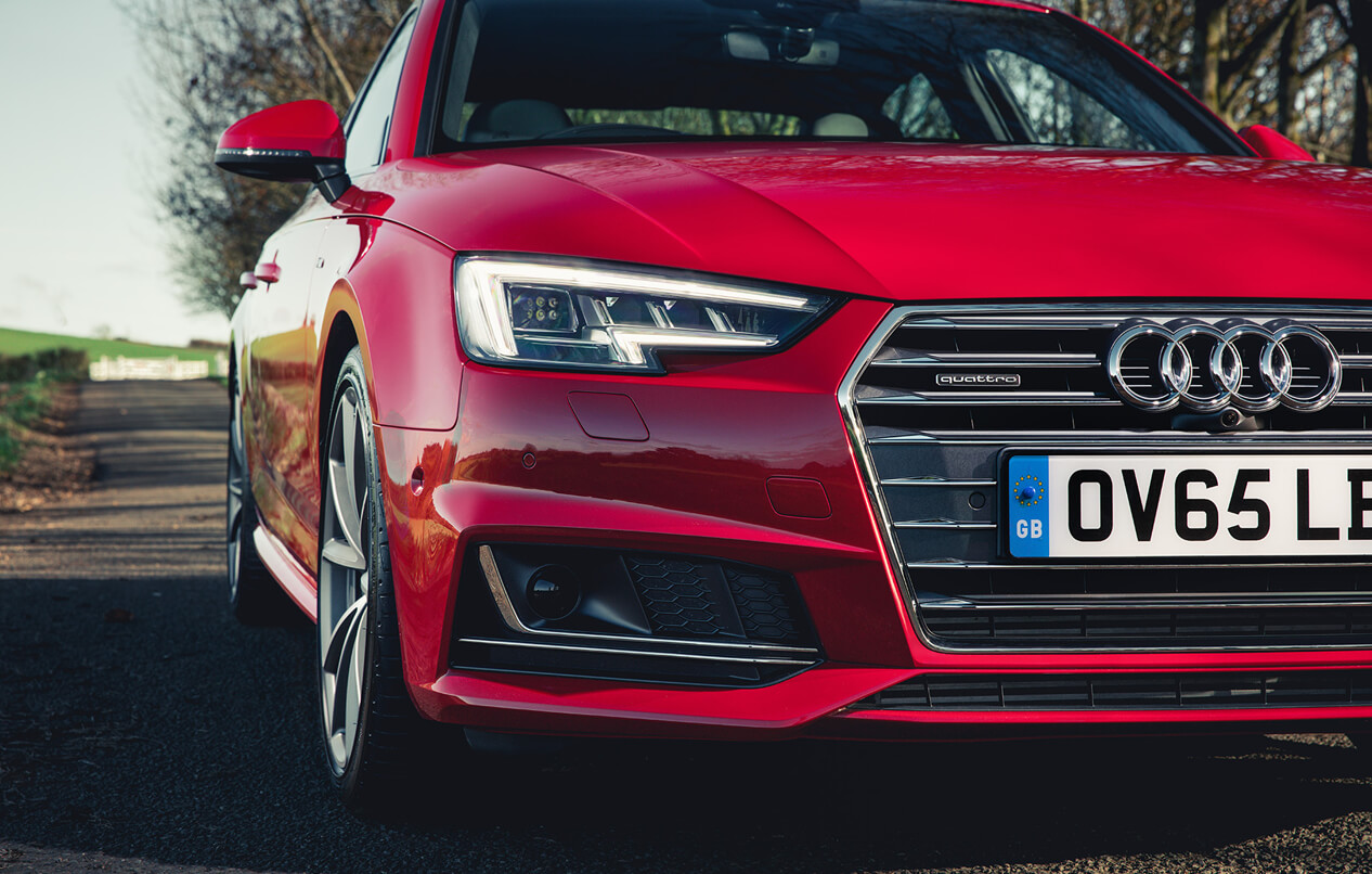 All-new A4 Saloon