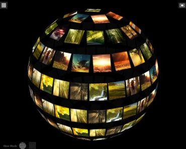 Flagallery Sphere 3D Skin