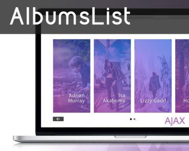 AlbumsList