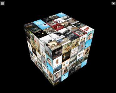 Flagallery Cube 3D Skin