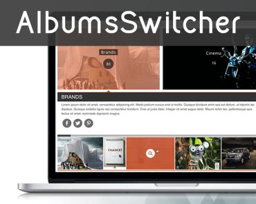 Albums Switcher