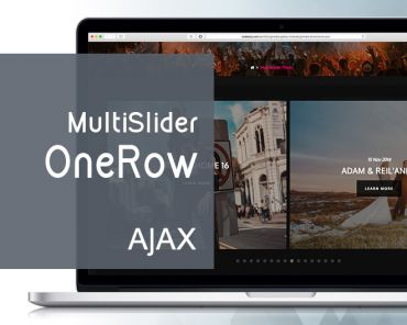 Multislider OneRow