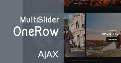 Multislider OneRow